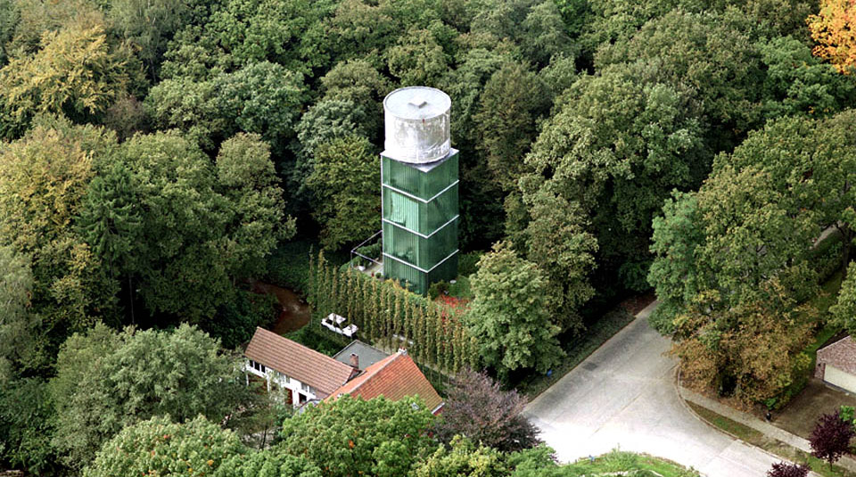 Crepain Binst Architecture - Water Tower Brasschat 1