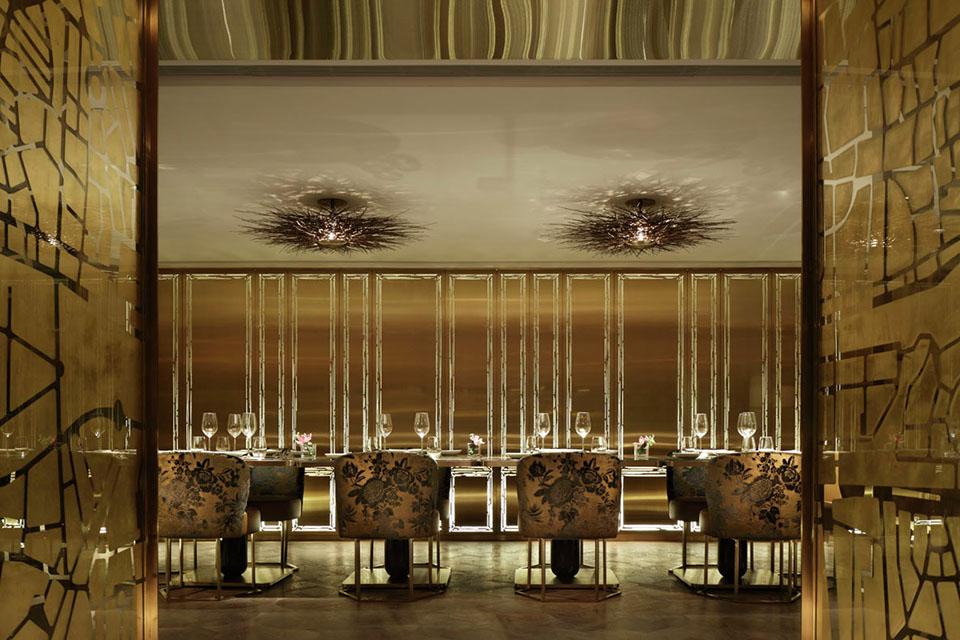Dalloyau - Hong Kong - Inverse Lighting Design - Image Courtesy of The Restaurant and Bar Design Awards