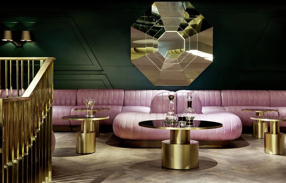 Dandelyan – London – Design Research Studio – Image Courtesy of The Restaurant and Bar Design Awards