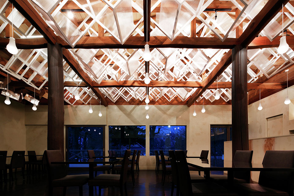 Dream Dairly Farm Restaurant - Japan - Moriyuki Ochiai Architects - Image Courtesy of The Restaurant and Bar Design Awards