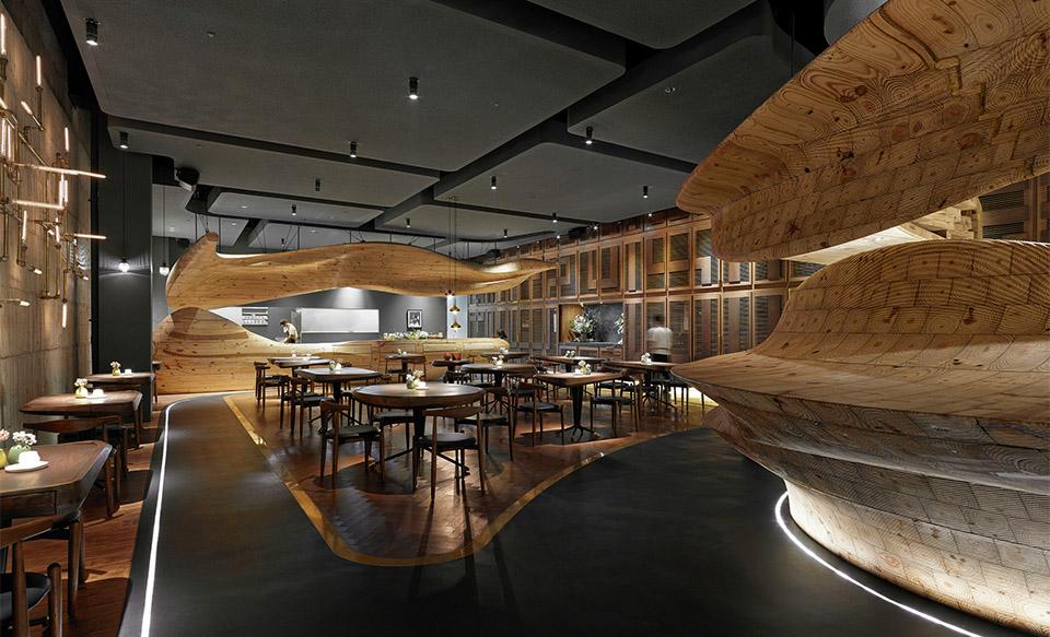 RAW – Taiwan – WEIJENBERG – Image Courtesy of The Restaurant and Bar Design Awards
