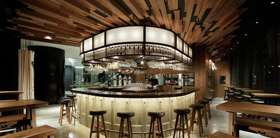 Toranomon HOP - Japan - AND - Image Courtesy of The Restaurant and Bar Design Awards
