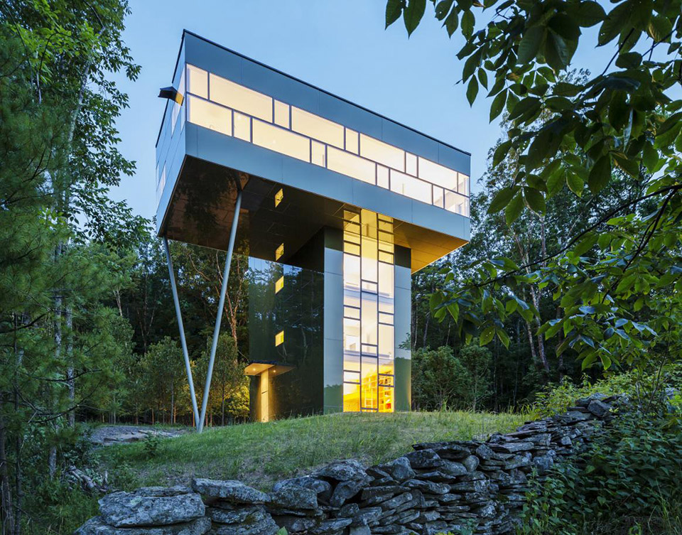 Tower House by Gluck Plus – Photo by Paul Warchol – 1
