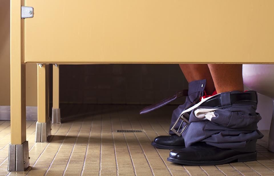 Hulu Sneaky on Demand – Office Restroom Stall