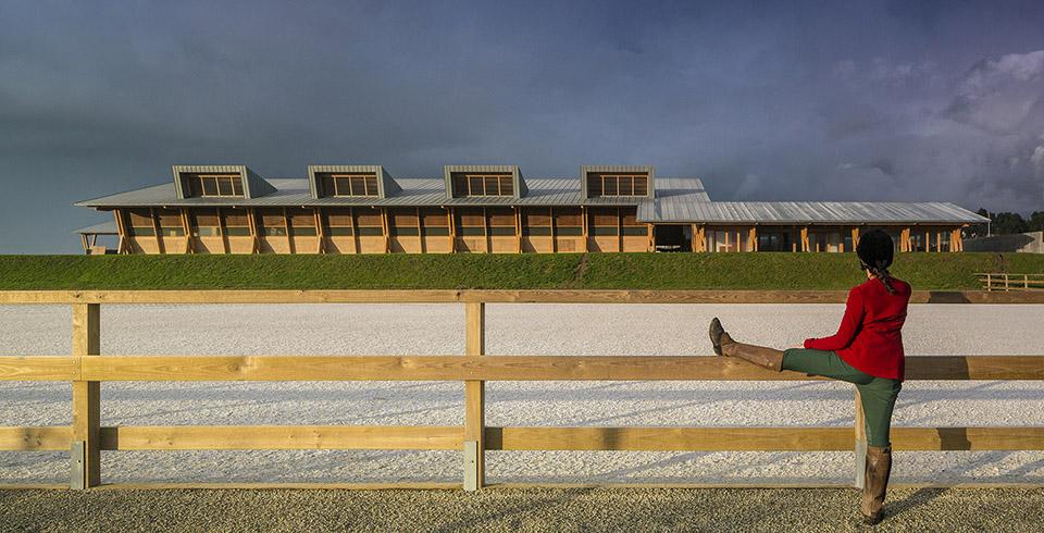 sports facility design – Equestrian Centre by Carlos Castanheira and Clara Bastai – Photography by Fernando Guerra 2