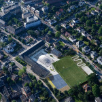 sports facility design - Sports and Arts Expansion by Bjarke Ingels Group - Photo by Iwan Baan
