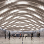 sports facility design - Sports and Arts Expansion by Bjarke Ingels Group - Photo by Rasmus Hjortshoj