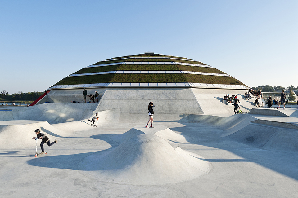 sports facility design – Street Dome Haderslev