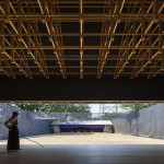 sports facility design - timber structure archery hall and boxing club 3