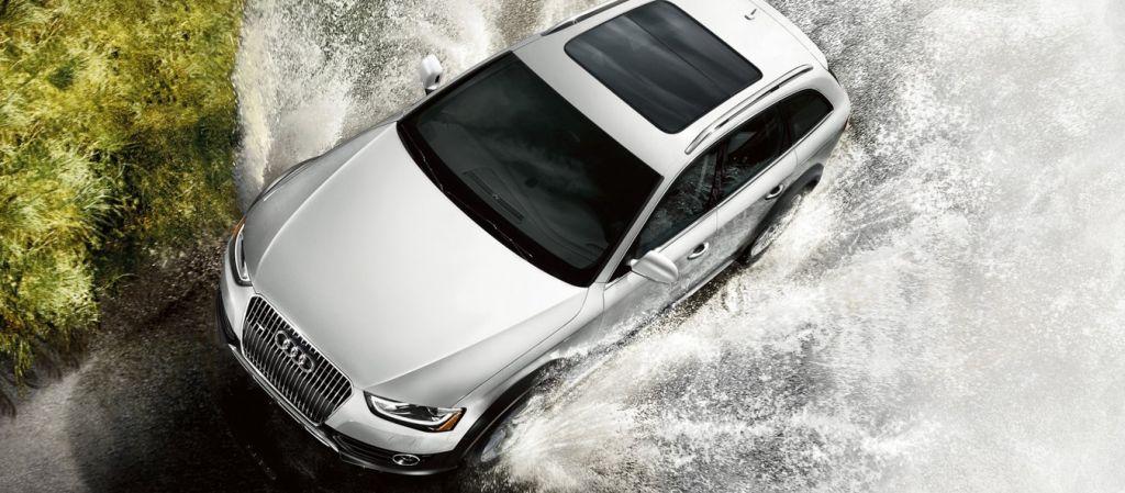 2016 Audi Allroad - water running
