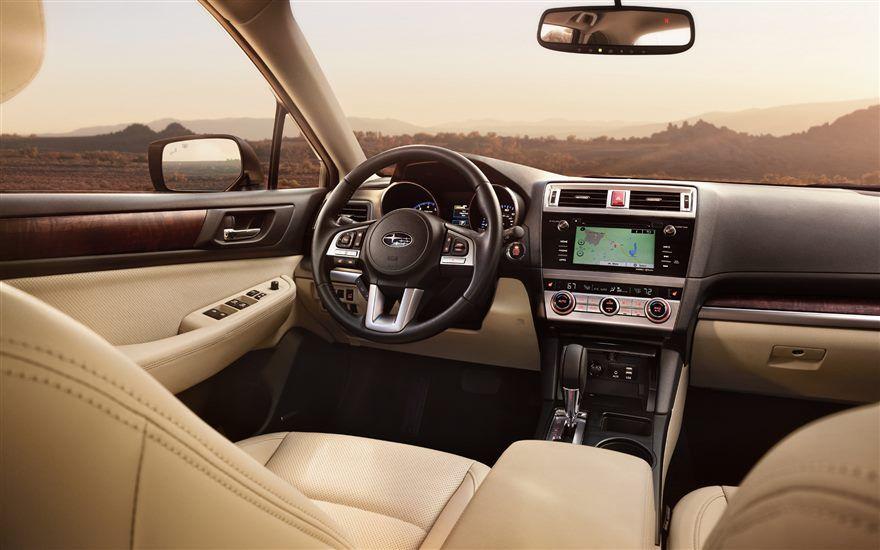 2016 Subaru Outback – interior