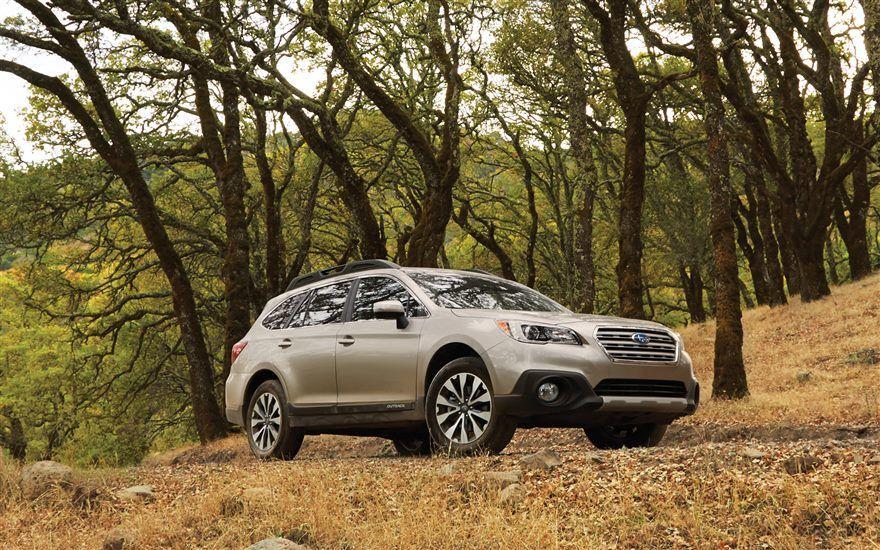 2016 Subaru Outback – outdoors