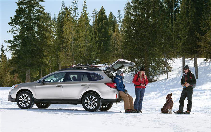 2016 Subaru Outback – winter trips