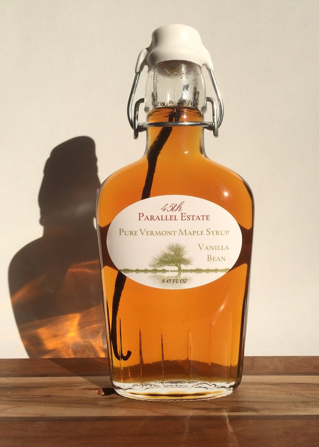 45th Parallel Estate – Pure Vermont Maple Syrup (Vanilla Infused)