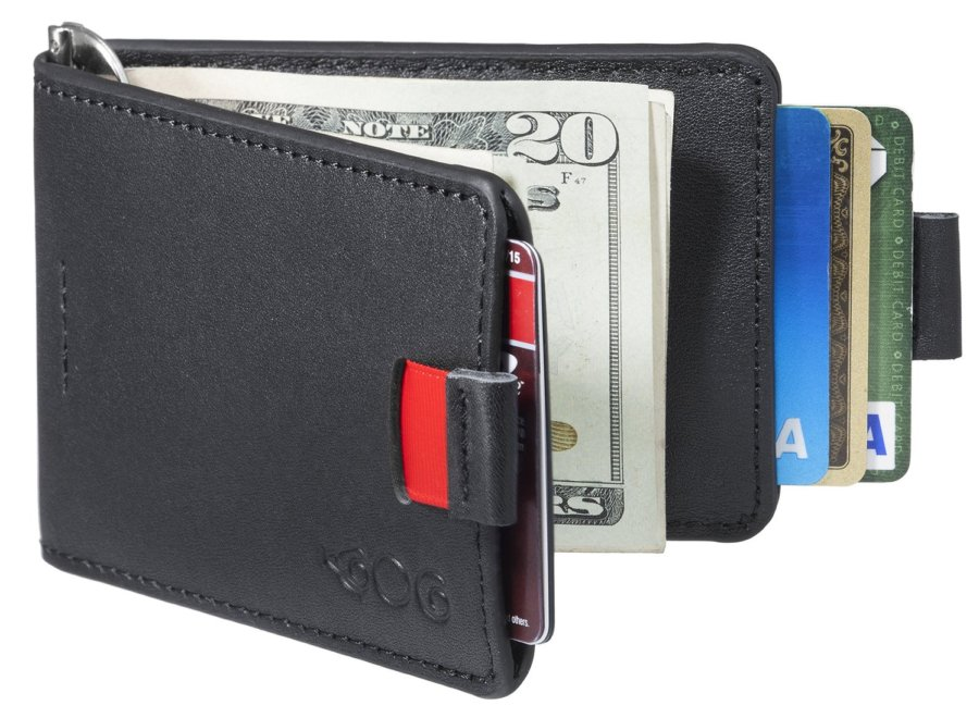 Agog Ultra Slim Bifold Leather Wallet