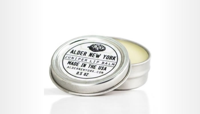 Alder New York - Juniper lip balm