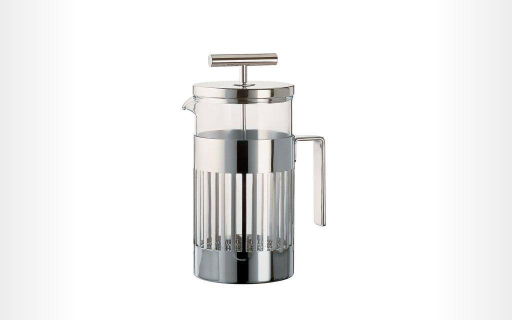 Alessi Aldo Rossi Press Filter Coffee Maker or Tea Infuser