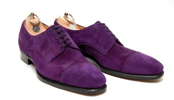Alfred Sargents Browning Purple Suede 345x200 The 19 Most Elite Bespoke Footwear Shoemakers
