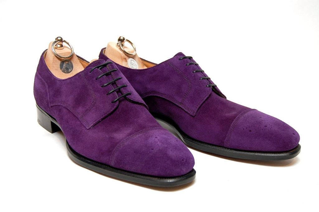 Alfred & Sargent's -Browning – Purple Suede