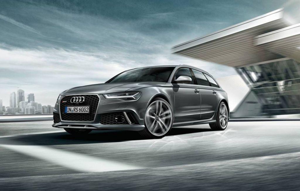 Audi RS 6 Avant – front view