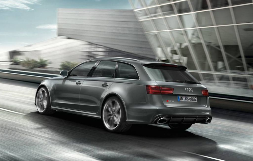 Audi RS 6 Avant – rear view