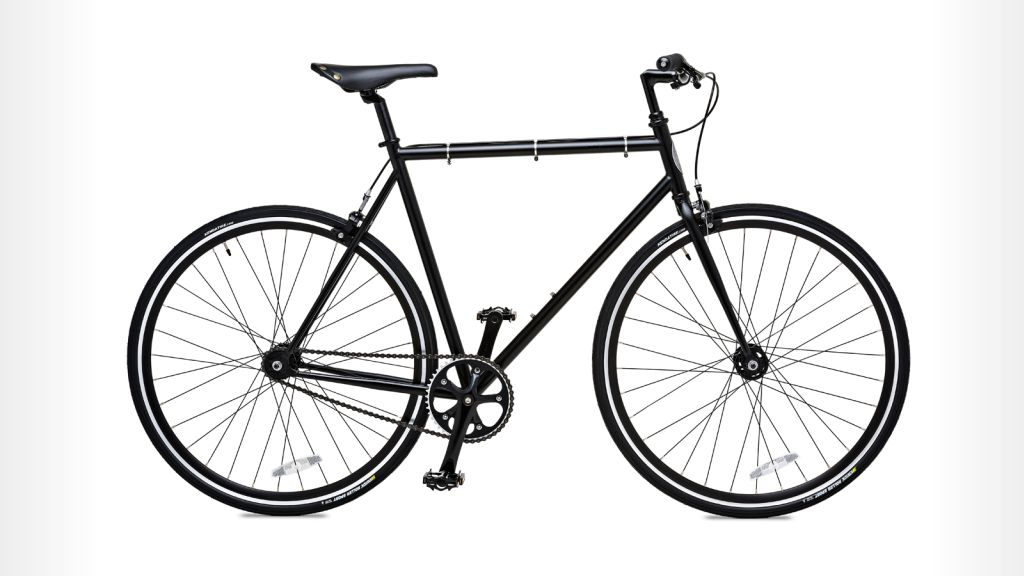 BK Wythe Black Fixie - city bike