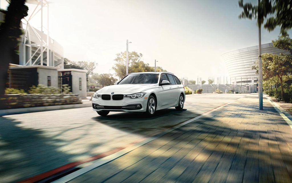 BMW 3 Series Sports Wagon in Alpina White