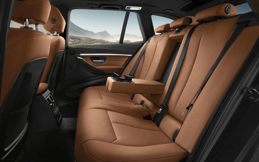 BMW 328d Sports Wagon Interior in Dakota leather