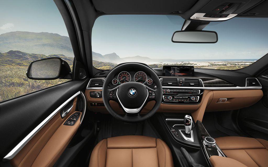 BMW 328i Sports Wagon in Dakota leather Saddle Brown