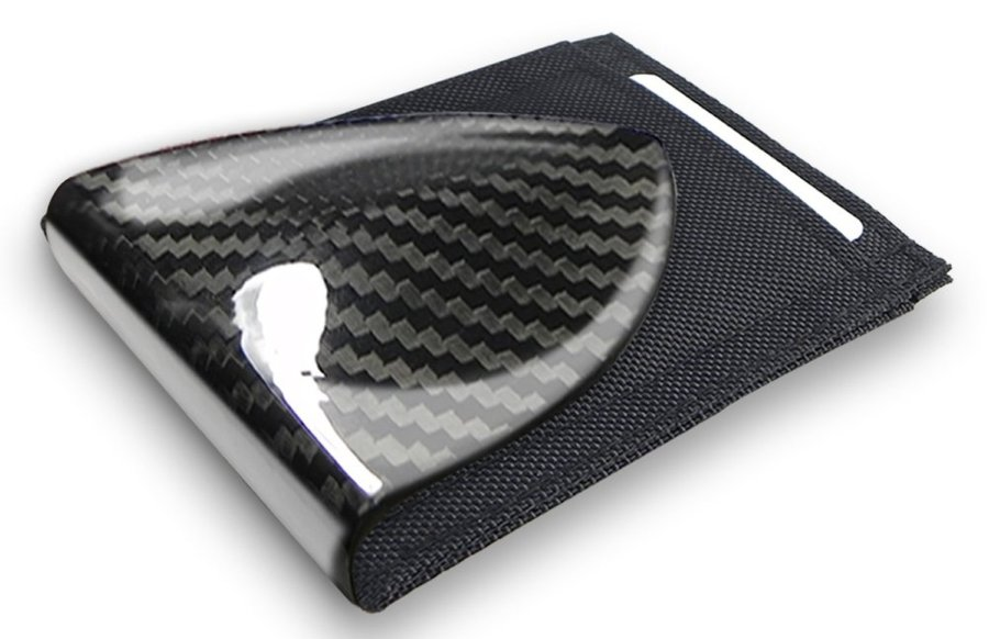 Billetus Carbon Fiber Money Clip - minimalist wallet