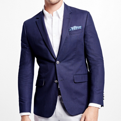 Brooks Brothers Milano Fit Cotton Blazer