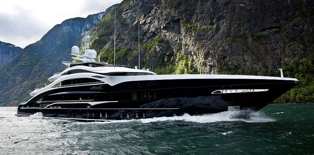 Heesen's Superyacht Ann G: A Power-Packed Display of Style and Splendor