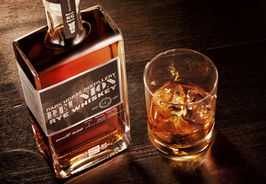 Dark Horse Distillery Reunion - rye whiskey