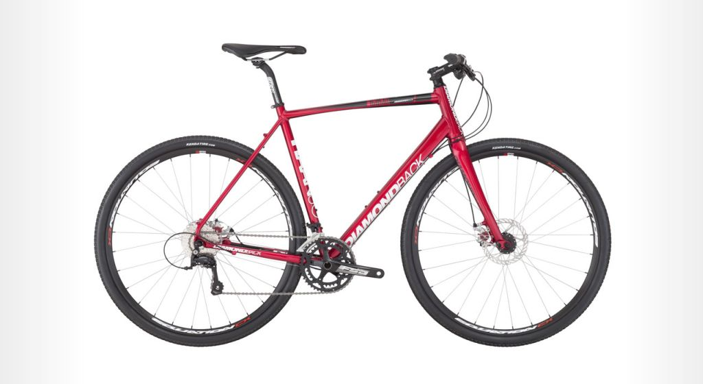 DiamondBack Haanjo bike in red