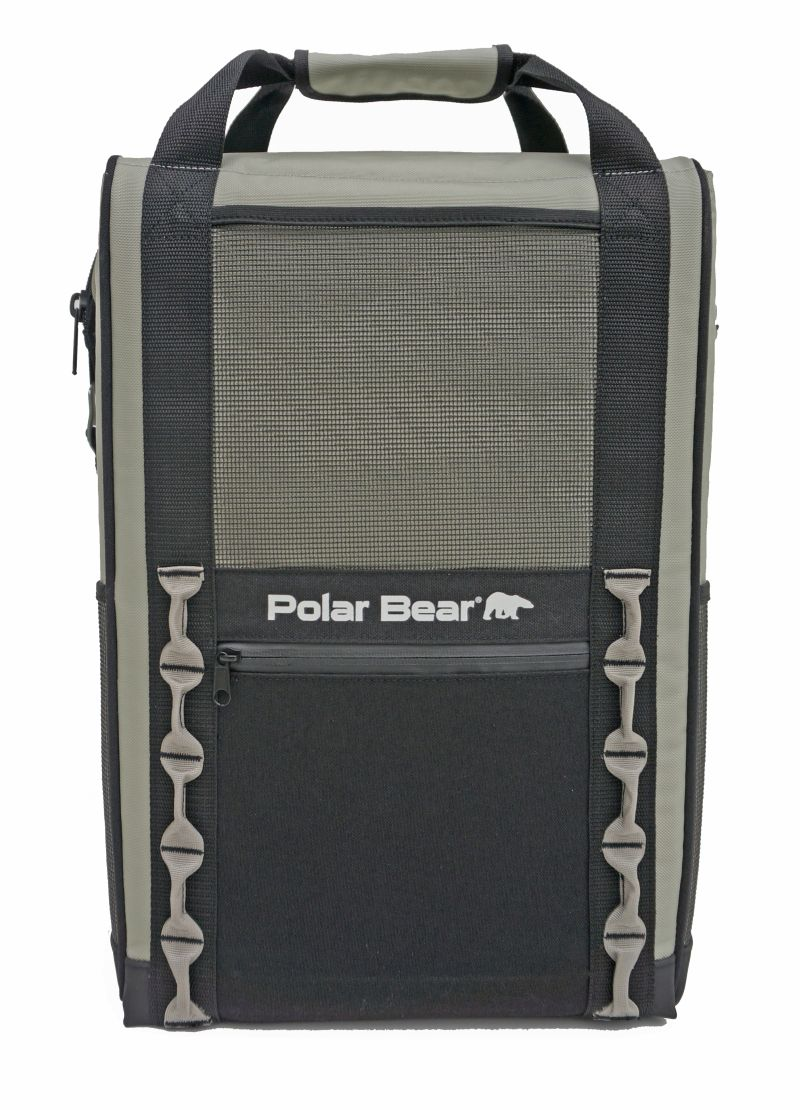 Eclipse Backpack Cooler – side view