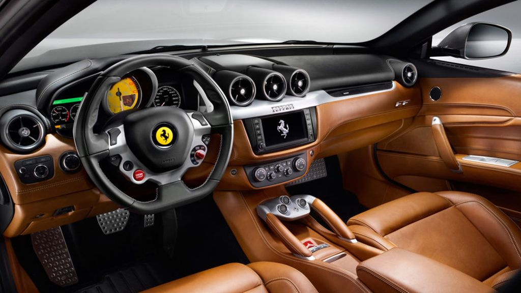 Ferrari FF – leather interior