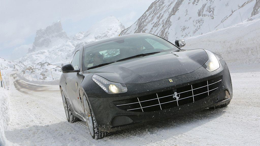 Ferrari FF - winter time