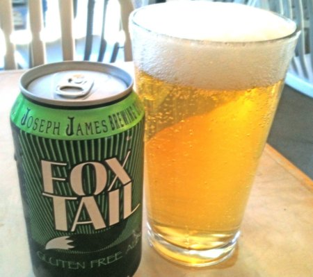 Fox Tail Ale - gluten-free beer