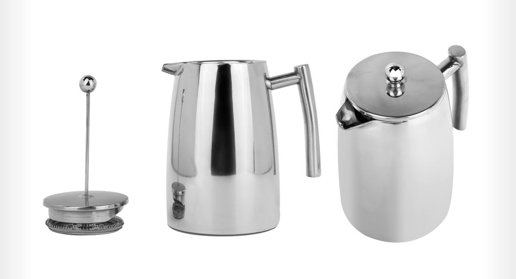 Francois et Mimi Double Wall French Coffee Press
