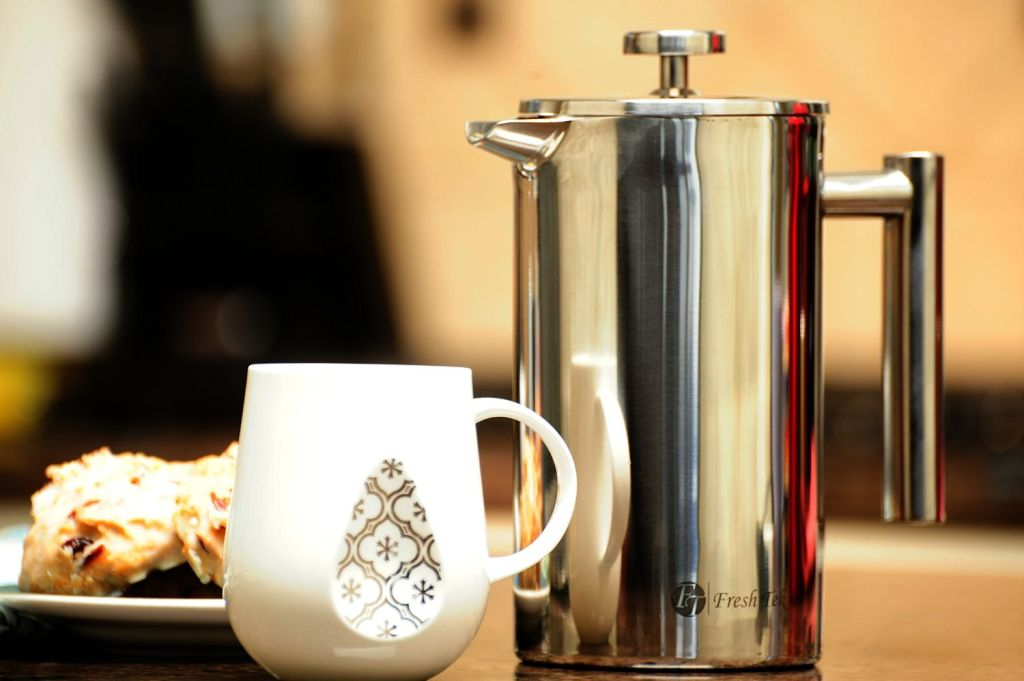FreshTek Red Best French Press