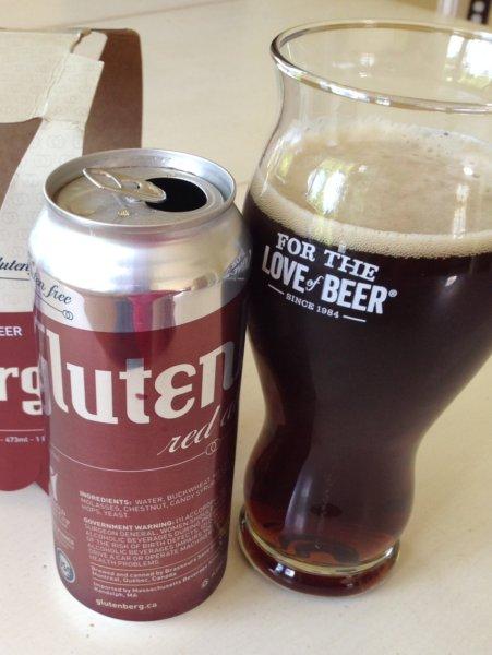 Glutenberg Red - gluten-free beers