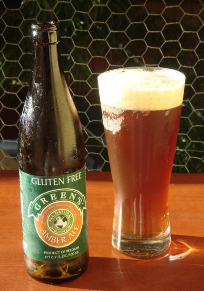 Greens Amber Ale - gluten-free beer