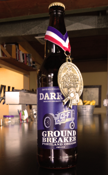 Ground Breaker Dark Ale - gluten-free beers