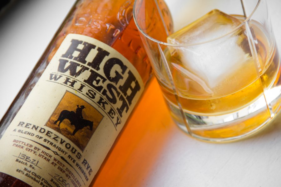High West Rendezvous – rye whiskey