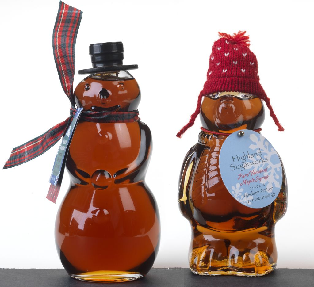 Highland Sugarworks Maple Syrup Specialty Bottle