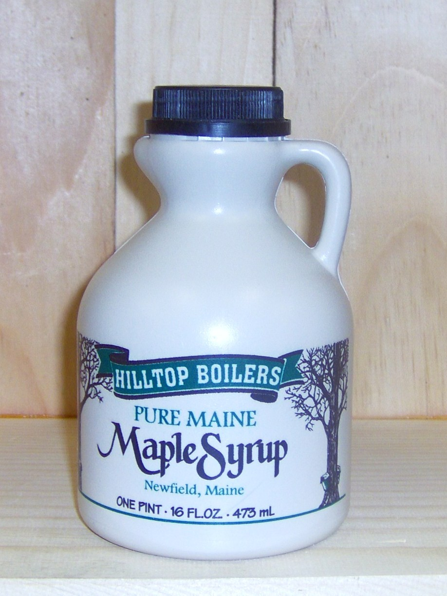 Hilltop Boilers Pure Maine Maple Syrup