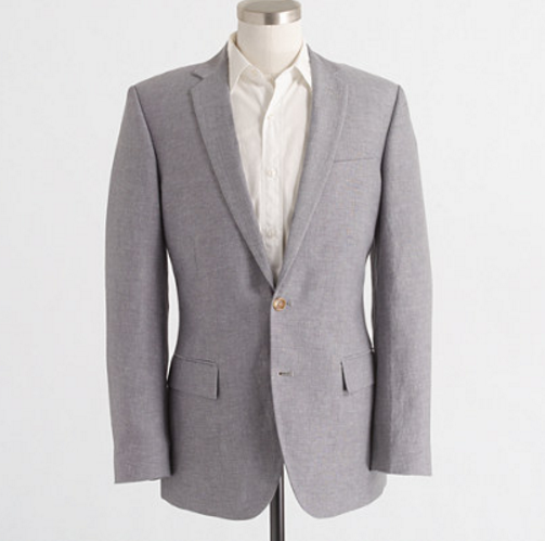 J Crew Factory Thompson Suit Jacket in Slub Linen Luminous Vestments: The 16 Best Blazers for Men