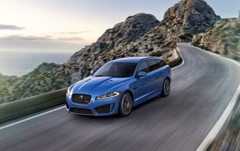 Jaguar XFR-S Sportbrake – mountain ride