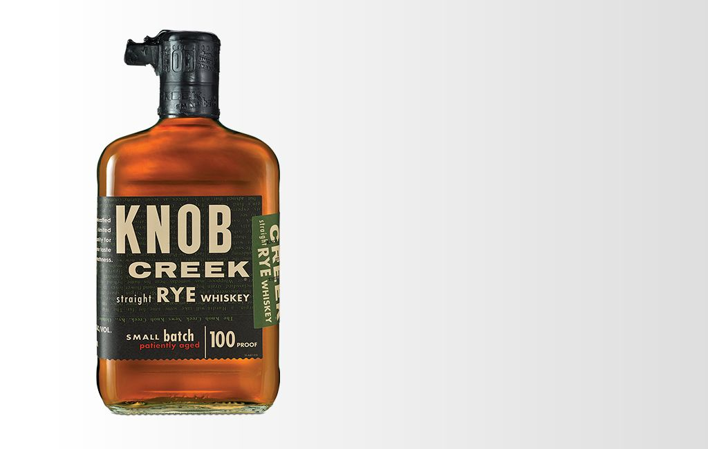 Knob Creek: Kentucky Straight Rye Whiskey