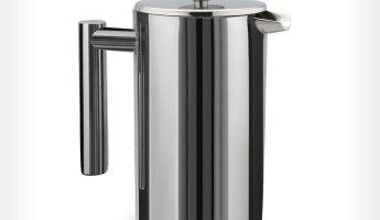 Kuissential Stainless Steel Cafetiere 345x200 Best French Press: 16 Sophisticated Coffeemakers for Serious Beaniacs